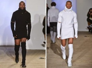 Guys Would You Rock This? Its Called 'Men's Cashmere Mini Dress'