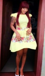 Photos: See The Barbie Side Of Tonto Dikeh In Yellow Doll Dress