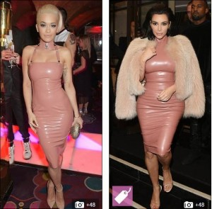 Who Pulled It Off Kim Kardashian or Rita Ora?