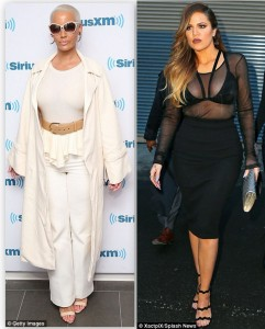 Updates On Khloe Kardashian And Amber Rose Feud : Calls O.J Simpson Khloe's Real Dad
