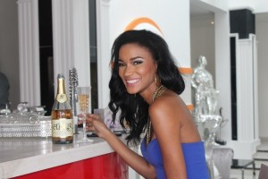 Elixxir Wines Features Former Beauty Queen, Leila Lopez & Hubby (Osi Umenyiora) In New TV Commercials |Photos