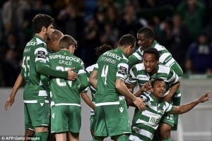 Nani Wept With Emotion After Scoring An Outrageous 30-Yard Goal For Sporting Lisbon
