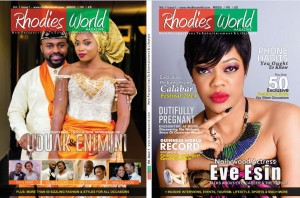 Here's A Sneak Peek At Rhodies World Magazine, Issue 1 – Nollywood Actress Eve Esin On The Cover