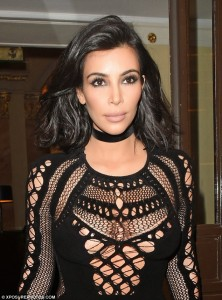 Photo: Scale Of 1-10,Rate Kim's Outfit To  2015 BRIT Awards In London