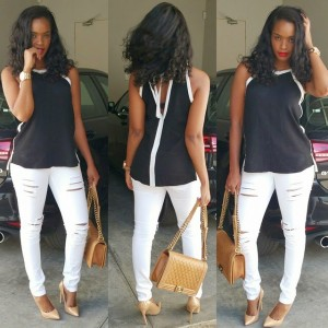 Photo: Check Out Dillish In Ripped Jeans