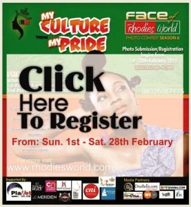 Click Here To Register & Submit Your Photos For FRW Season 6 'My Culture, My Pride'