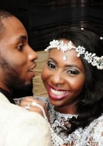 Photo :Cool FM OAP, Shine Begho Beautiful Wedding Photos