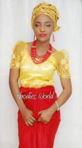 Face Of Rhodies World Photo Contest Season 6 (My Culture, My Pride) – Miss Amanda Peters Showcasing The Igbo Culture