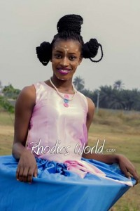 Face Of Rhodies World Photo Contest Season 6 (My Culture, My Pride) – Miss Nkpoikanke Archibong Showcasing The  Efik Culture