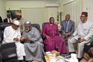 Dangote, Abdulsalam, Amaechi and others With Buhari In Abuja – See Photos