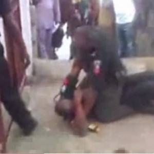 Photos & Video of Two Nigerian Policemen Fighting Hit The Internet