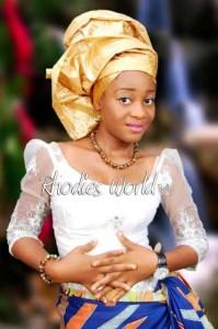 Face Of Rhodies World Photo Contest Season 6 (My Culture, My Pride) Miss Emem Holycity Showcasing  Ibibio Culture