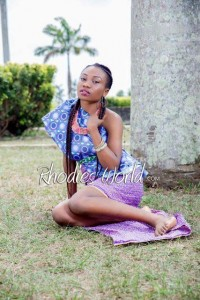 Face Of Rhodies World Photo Contest Season 6 (My Culture, My Pride) – Miss Ingrid Edem Showcasing Esit Eket Culture