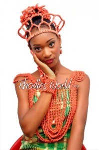 Face Of Rhodies World Photo Contest Season 6 (My Culture, My Pride)  – Miss Monalisa Owhondah  Showcasing The Benin Culture