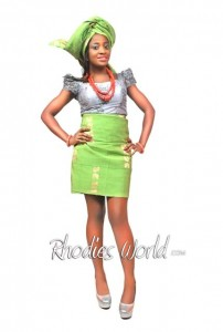 Face Of Rhodies World Photo Contest Season 6 (My Culture, My Pride) – Miss Precious Nwogidi Showcasing The Yoruba Culture