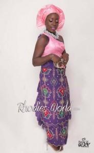 Face Of Rhodies World Photo Contest Season 6 (My Culture, My Pride) – Miss Aniebiet Umanah Showcasing The Ibibio Culture