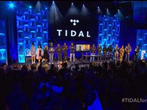 Photos : Jay Z's Star Studded Press Conference For TIDAL App Launch