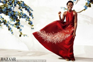 Photos : Lupita Nyong'o Dazzles In New Fashion Shoot