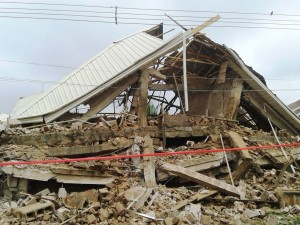 Five Members Confirmed Dead As Catholic Cathedral In Enugu Collapses