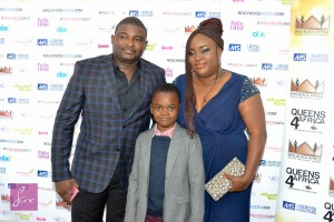 "Red Carpet Photos From Emem Isong's Movie Premiere ""Champagne"" In London"