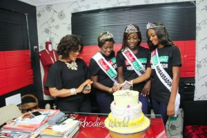 DAY 1: Visit Of Rhodies World Season 6 Ambassadors To Akwa Ibom State