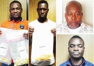 Four Smugglers Excrete 171 Wraps Of Coacine In Lagos