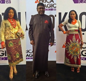 Eucharia Anunobi ,Oge Okoye Clem Ohameze & More Stars At The Africa Magic Igbo Launch In Enugu