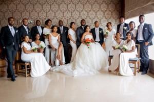 RW Weddings: Onyinye Onwugbenu Of MUD Cosmetics & Bosah Chukwuogo's Glam Wedding