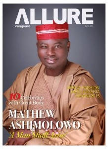 Guess Who Is On The Cover Of Vanguard Allure, Pastor Mathew Ashimolowo
