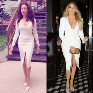 Who Rocked It Better? Dabota Lawson vs Khloe Kardashian