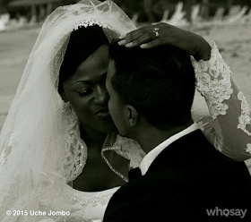 Uche Jumbo Writes Heartwarming Message To Husband On 3rd Wedding Anniversary