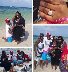 Photo : Toolz and Tunde Demuren's Engagement