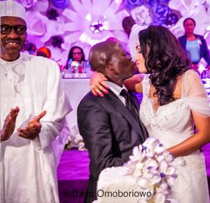 More Photos From Adams Oshiomole's Wedding