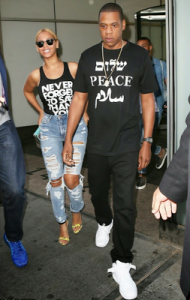 Photo : Beyonce Steps Out In Ripped Jeans With Jayz