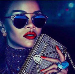 Photos : Rihanna Looks Glamorous For Dior's Secret Garden Campaign