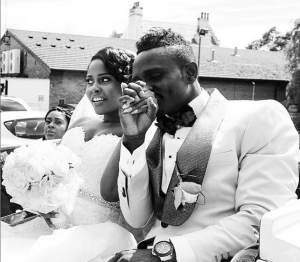 Photos : Joseph Yobo's Younger Brother's Church Wedding