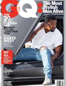 Kanye West Named Most Stylish Man By GQ Magazine