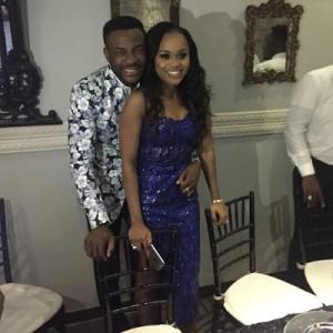 Photos : Ebuka Obi-Uchendu & Cynthia Obianodo Engagement Dinner