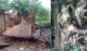 Ritual Killers Hideout Uncovered By Police In Ondo