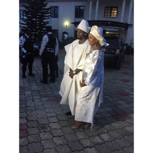 Photos : Osas Ighodaro & Hubby Gbenro Traditional  Wedding