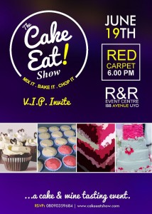 Big Exude & Cakes – The Cake Eat Show.