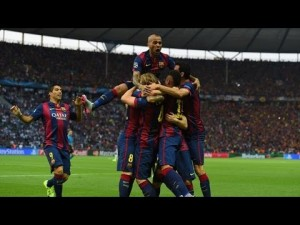 Video :  Highlights Of UCL Final Barcelona Vs Juventus [3-1]