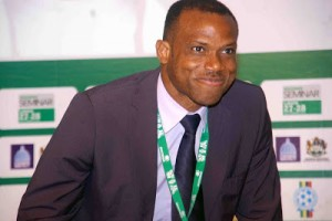 Sunday Oliseh Confirmed  As New Super Eagles Coach