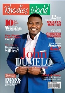 Ghanaian Actor John Dumelo Looks Dapper On Rhodies World Magazine's Second Edition