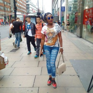 Photos : Ini Edo Shares Photos From Her Vacaton In London