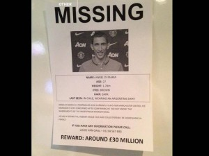 Di Maria Reported Missing