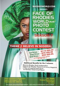 Registration For Face Of Rhodies World Photo Contest Season 7 Begins From August 1, 2015 – Are You Ready?