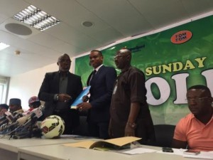 Sunday Oliseh Signs Contract As New Super Eagle's Coach