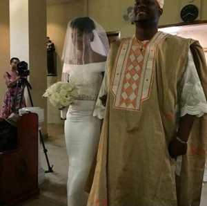 Photos : Amazing Pictures from Gbenro and Osas' White Wedding In New York