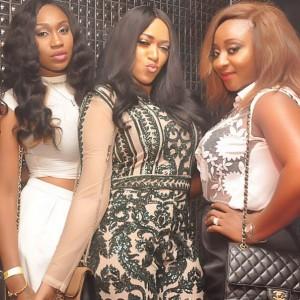 Ini Edo,Rukky Sanda & Ebube Nwagbo Stun In New Photo